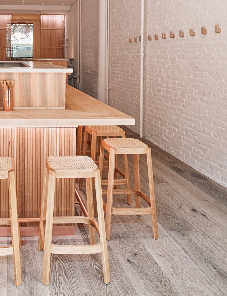 The bar at Nami Nori