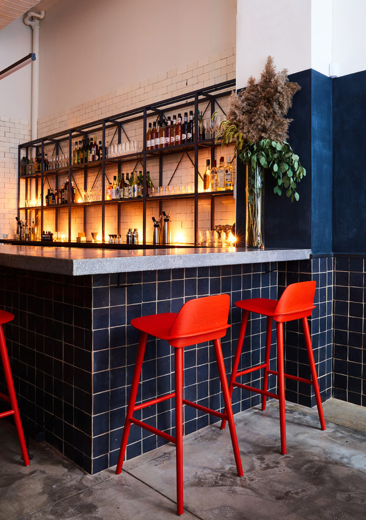 The bar at Tonchin NY