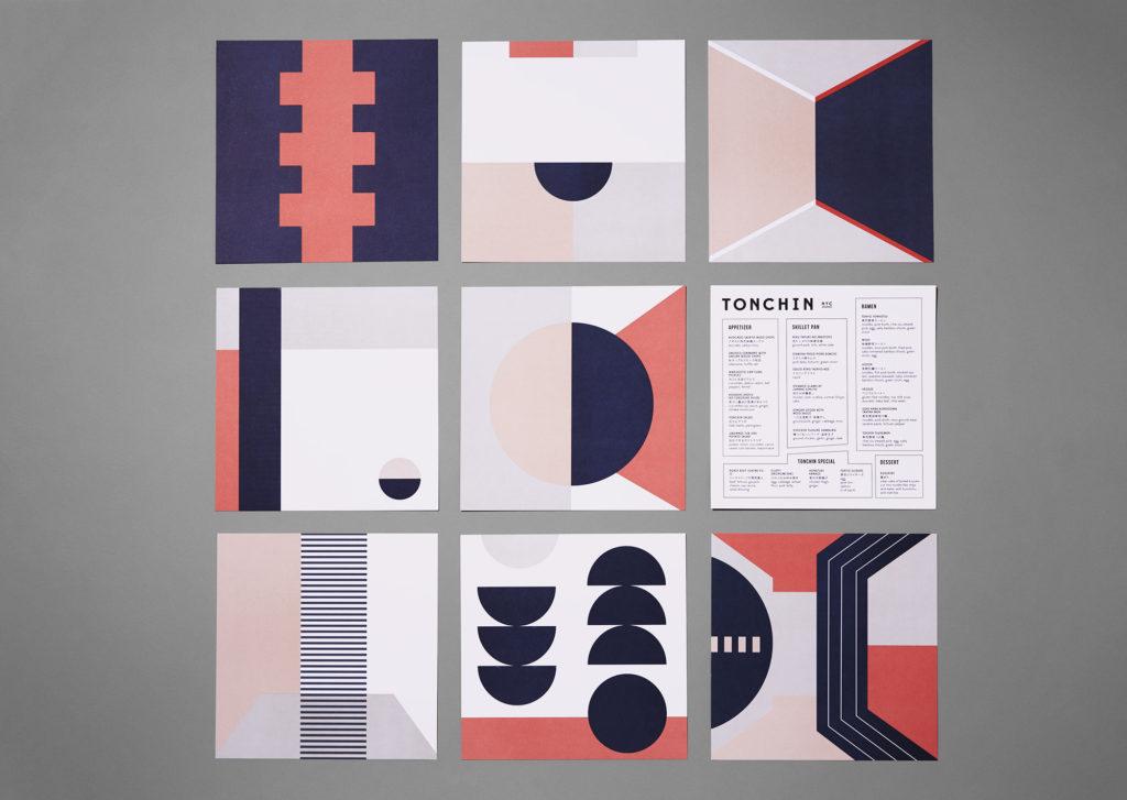Suite of Tonchin menus