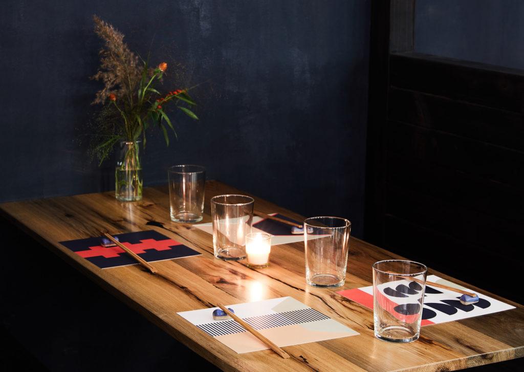 A table at Tonchin NYC