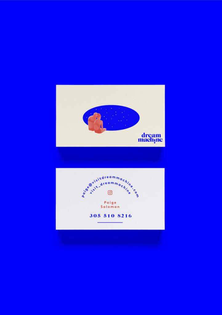 Dream Machine business card