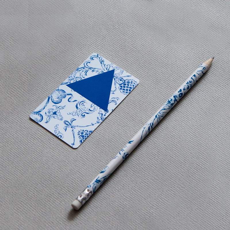 Morgans Hotel Group keycard and pencil
